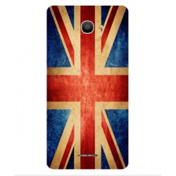 Funda Vintage UK Para Alcatel Pop 4S