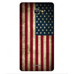 Funda Vintage America Para Alcatel Pop 4S