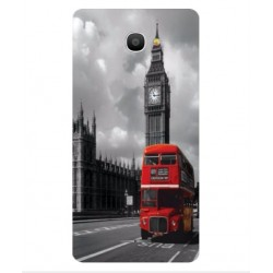 Alcatel Pop 4S London Style Cover
