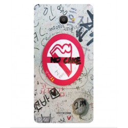Funda Protectora 'No Cake' Para Alcatel Pop 4S