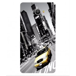 Funda New York Para Alcatel Pop 4S