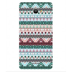 Coque Broderie Mexicaine Pour Alcatel Pop 4S