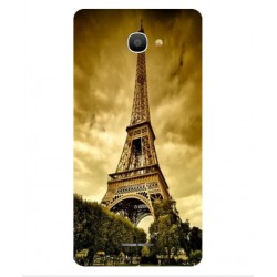 Funda Torre Eiffel Para Alcatel Pop 4S