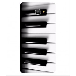 Funda Piano Para Alcatel Pop 4S