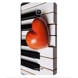 Funda I Love Piano Para Alcatel Pop 4S