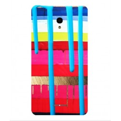 Carcasa Brushstrokes Para Alcatel Pop Star LTE