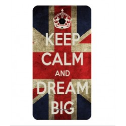 Coque Keep Calm And Dream Big Pour Alcatel Pop Star LTE