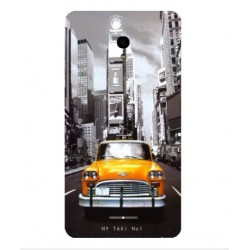 Carcasa New York Taxi Para Alcatel Pop Star LTE