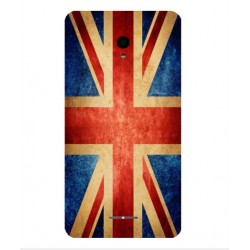 Funda Vintage UK Para Alcatel Pop Star LTE