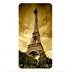 Coque Protection Tour Eiffel Pour Alcatel Pop Star LTE