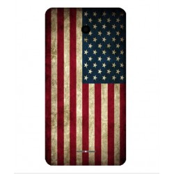 Funda Vintage America Para Alcatel Pop Star LTE