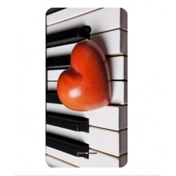 Funda I Love Piano Para Alcatel Pop Star LTE