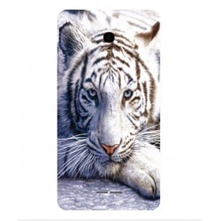 Coque Protection Tigre Blanc Pour Alcatel Pop Star LTE
