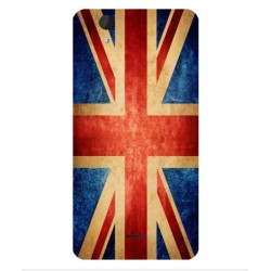 Coque Vintage UK Pour Wiko Birdy 4G