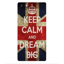 Wiko Fever 4G Keep Calm And Dream Big Cover