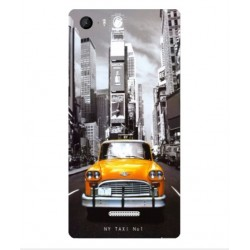 Coque New York Taxi Pour Wiko Fever 4G