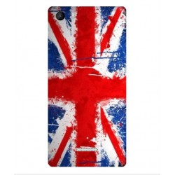 Coque UK Brush Pour Wiko Fever 4G