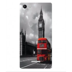 Wiko Fever 4G London Style Cover