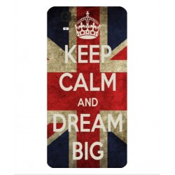 Coque Keep Calm And Dream Big Pour Wiko Fizz