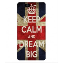 Coque Keep Calm And Dream Big Pour Wiko Highway 4G