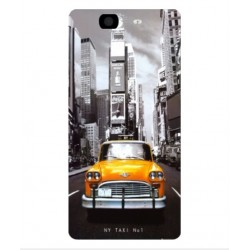 Coque New York Taxi Pour Wiko Highway 4G