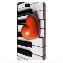 Coque I Love Piano pour Wiko Highway 4G