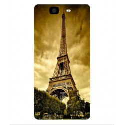 Coque Protection Tour Eiffel Pour Wiko Highway 4G