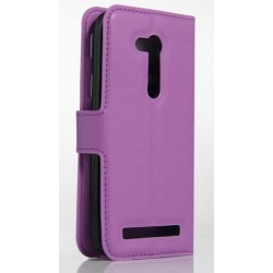 Asus Zenfone Go ZB450KL Purple Wallet Case
