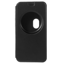 Etui Protection S-View Cover Noir Pour Asus Zenfone Zoom ZX550