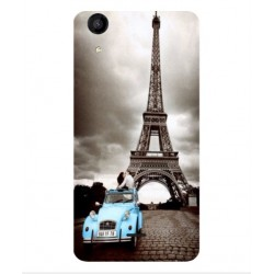 Wiko Rainbow Jam 4G Vintage Eiffel Tower Case