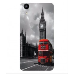 Wiko Rainbow Jam 4G London Style Cover
