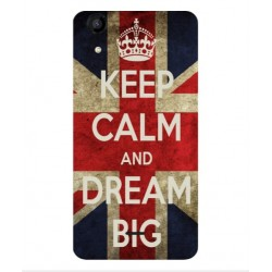 Wiko Rainbow Jam 4G Keep Calm And Dream Big Cover