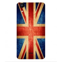 Wiko Rainbow Jam 4G Vintage UK Case