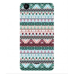 Coque Broderie Mexicaine Pour Wiko Rainbow Jam 4G