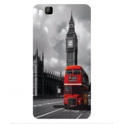 Protection London Style Pour Wiko Rainbow 4G