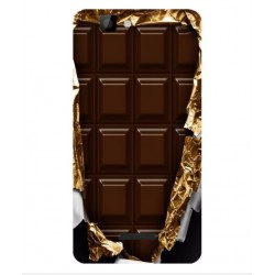 Coque I Love Chocolate Pour Wiko Rainbow 4G