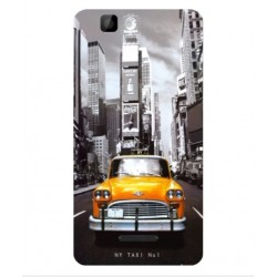 Coque New York Taxi Pour Wiko Rainbow 4G