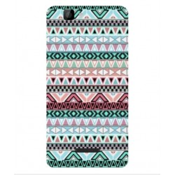 Coque Broderie Mexicaine Pour Wiko Rainbow 4G
