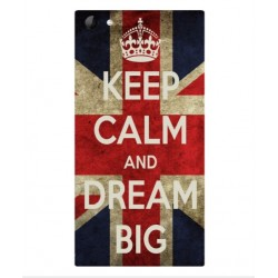 Coque Keep Calm And Dream Big Pour Wiko Highway Star 4G