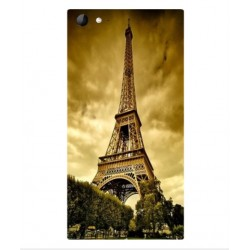 Coque Protection Tour Eiffel Pour Wiko Highway Star 4G