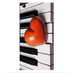 Coque I Love Piano pour Wiko Highway Star 4G