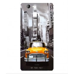 Coque New York Taxi Pour Wiko Highway Signs