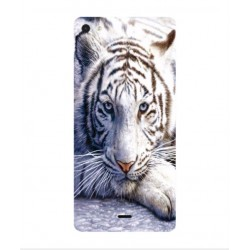 Wiko Highway Pure White Tiger Cover