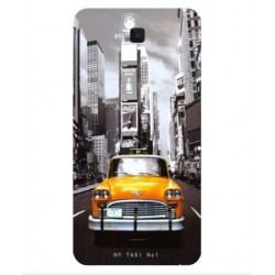 Coque New York Taxi Pour Wiko Slide