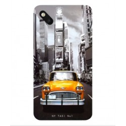 Coque New York Taxi Pour Wiko Sunset 2