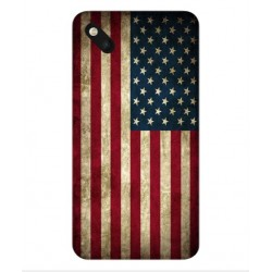 Coque Vintage America Pour Wiko Sunset 2