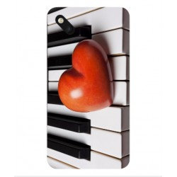 Coque I Love Piano pour Wiko Sunset 2