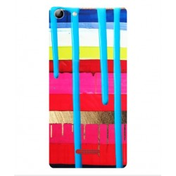 Coque Coups De Pinceau Pour Wiko Selfy 4G Rubby