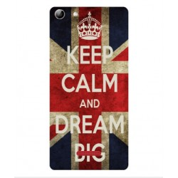 Coque Keep Calm And Dream Big Pour Wiko Selfy 4G Rubby