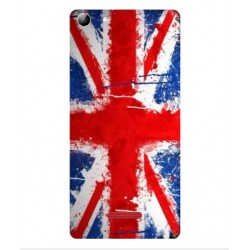 Coque UK Brush Pour Wiko Selfy 4G Rubby